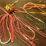 真鯛の乗っ込みシーズンに向けてオーバルテンヤの孫針を自作して交換