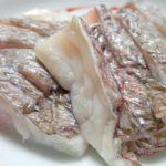 酒のつまみに真鯛の酢締めの作り方