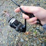 管釣りで19ヴァンキッシュとエクスリードATS60SUL使ってみた