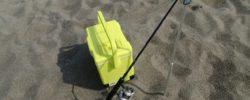 砂浜の釣りで持ってると便利な竿立てはこれ